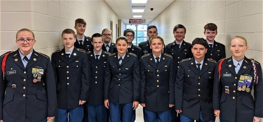 JROTC Program Launched AT AMS