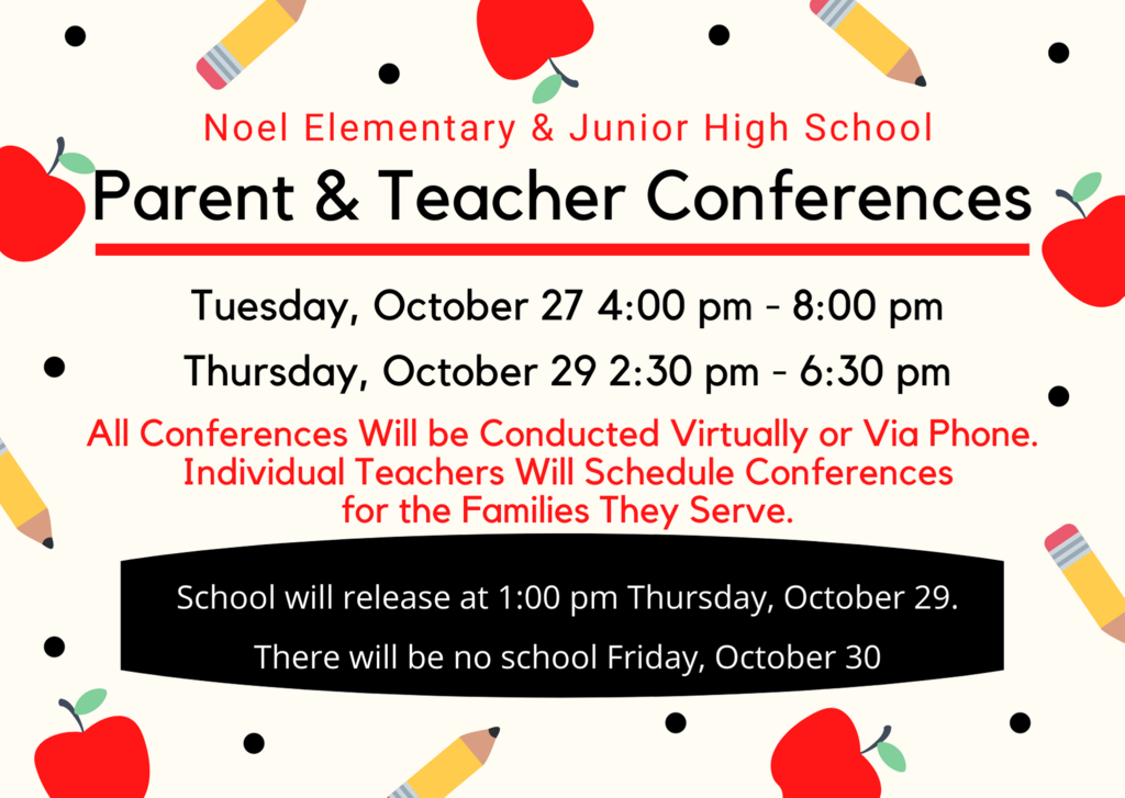 Parent teacher conferences notice