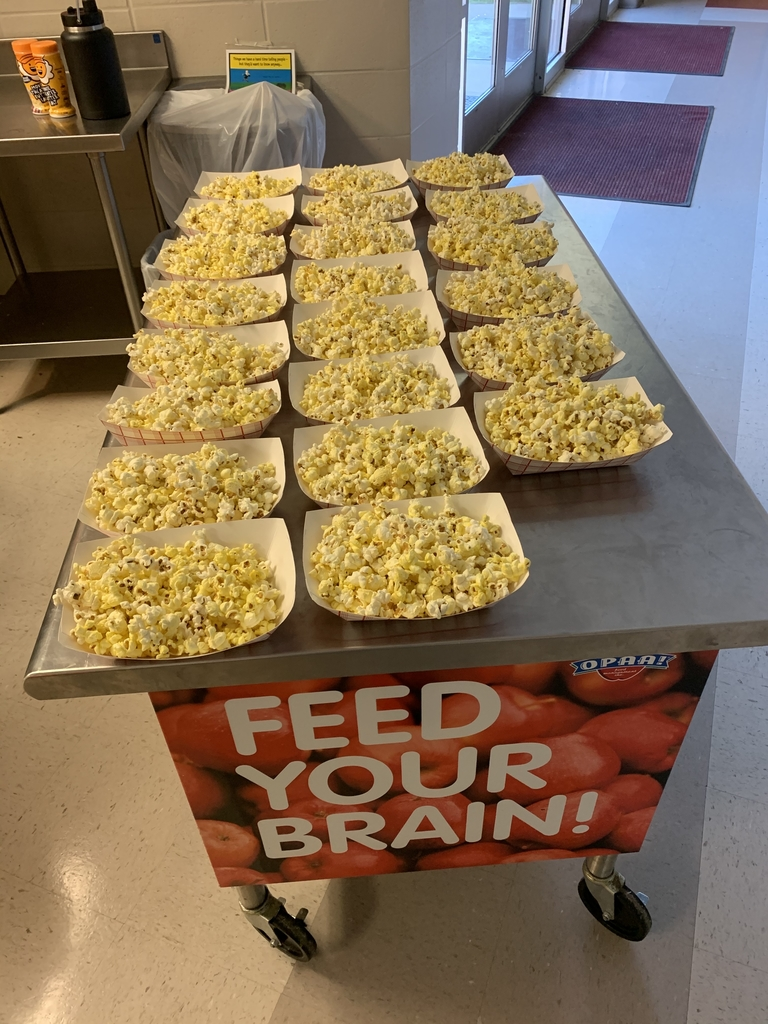 What's a movie without popcorn!